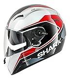 Shark Helmets Shark Vision-R S2 Syntic Wht Blk Rd XL