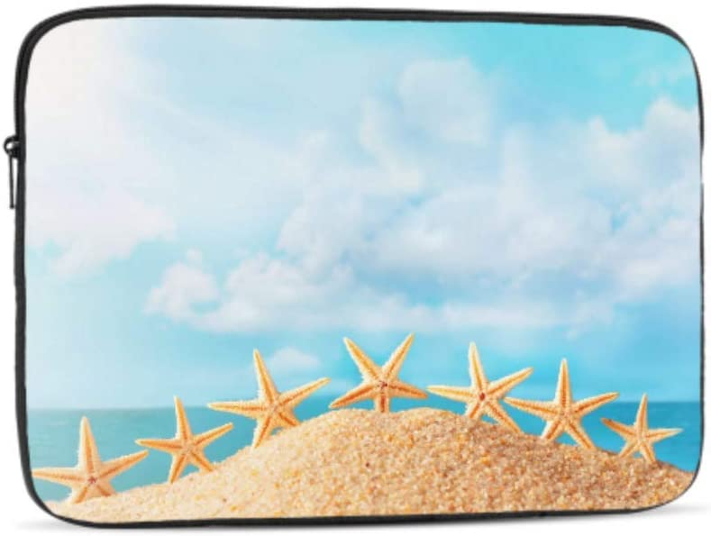 Designed to Fit Any Laptop//Notebook//ultrabook//MacBook with Display Size 11.6 Inches Relax Ocean Joyful Starfish On Beach Sand Pattern Neoprene Sleeve Pouch Case Bag for 11.6 Inch Laptop Computer