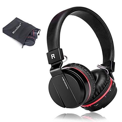 Active Noise Cancelling Wired/Wireless Bluetooth Headphones with Mic,Adjustable...