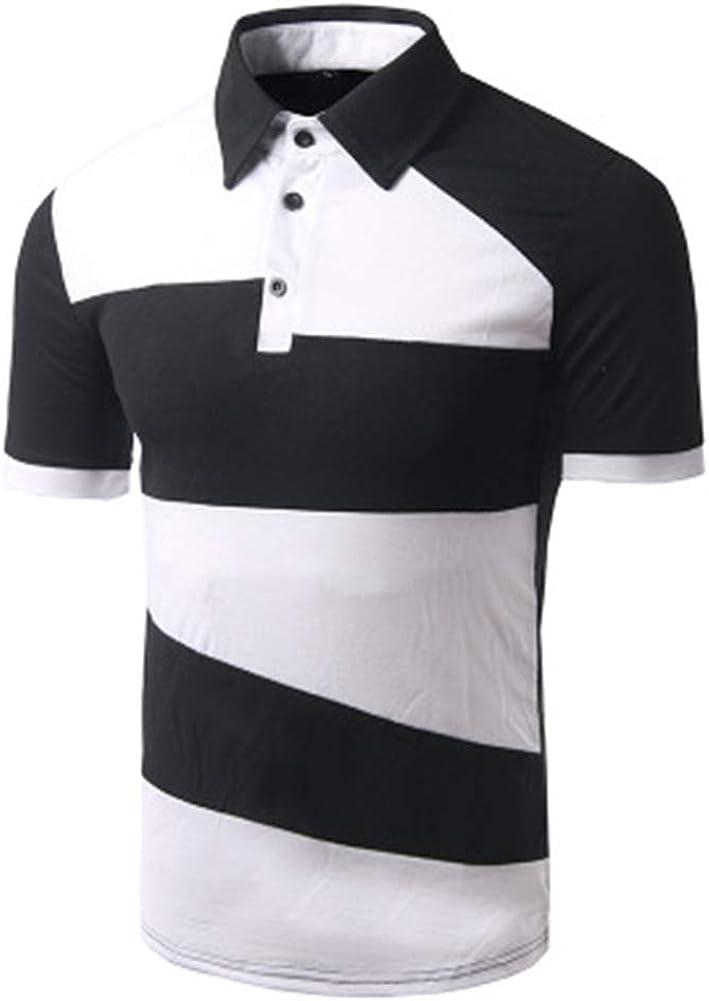 Mr.BaoLong&Miss.GO Camiseta De Hombre De Verano En Blanco Y ...