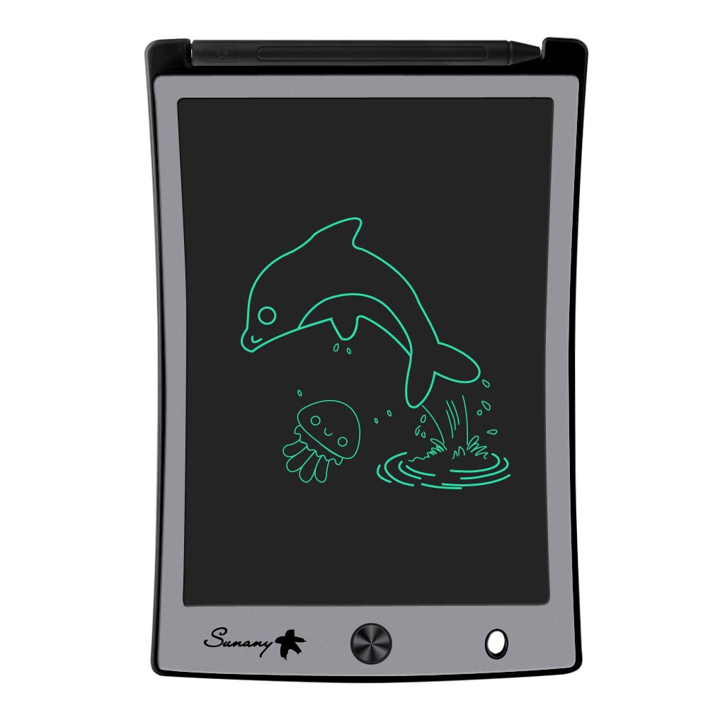 LCD Writing Tablet, 8.5 Inch Drawing Tablet Kids Tablets Doodle Board, Drawing Board Gifts for Kids and Adults at Home, School and Office (Black)