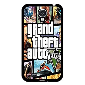 Fashion Poster PC Game Grand Theft Auto Phone Case Cover for Samsung Galaxy S4 I9500 GTA 5 V Popular Shell