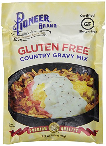 Price comparison product image Pioneer Gluten Free Country Gravy, 2.75 Ounce (Pack of 12)