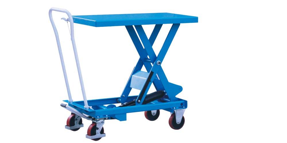 Eoslift TA30 Industrial Hydraulic Scissor Lift Table Truck/Cart, 660 lbs.