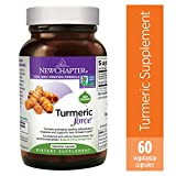 Turmeric Curcumin Supplement, New Chapter Turmeric Supplement, One Daily, Joint Pain Relief + Supercritical Organic Turmeric, Black Pepper Not Needed, Non-GMO, Gluten Free - 60 Count (2 Month Supply)