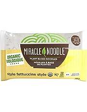 MIRACLE NOODLE Shirataki Noodle - Organic Fettuccine, 6 Count