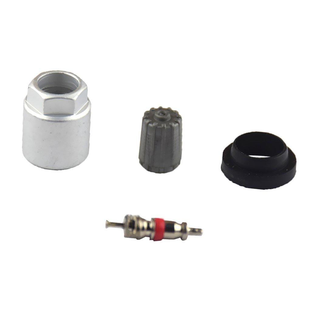 MagiDeal 4 Pezzi Sensore Di Pressione Pneumatico Ruota Kit TPMS Per Veicoli Universale