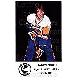 Randy Smith Hockey Card 1983-84 Saskatoon Blades #12 Randy Smith