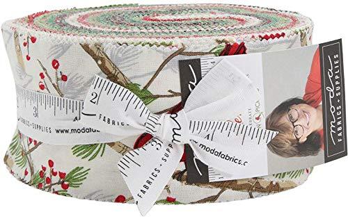 Splendid Jelly Roll 40 2.5-inch Strips by Robin Pickens for Moda Fabrics