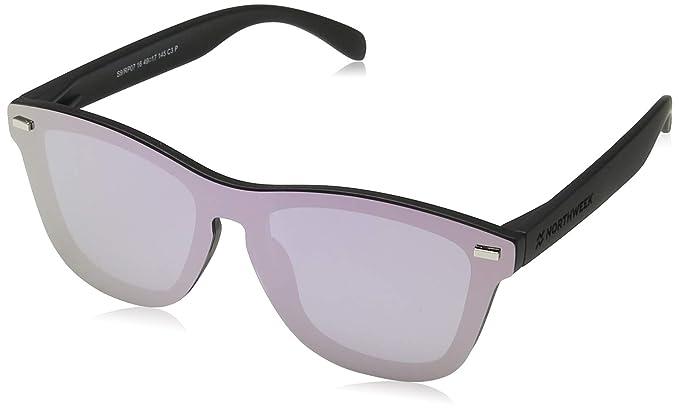 NORTHWEEK Regular Phantom Pipe Gafas de sol, Rose Gold, 140 ...