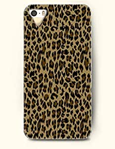 Chocolate And Black Leopard Stripe -- OOFIT Case for Apple iPhone 4 4S Case - Animal Print by lolosakes by lolosakes