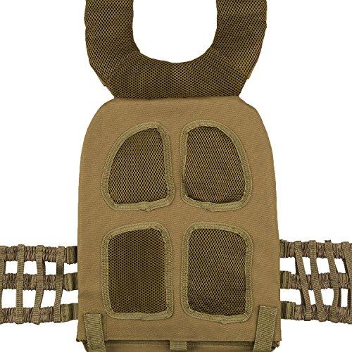 Veste lestée CAPITAL SPORTS Battlevest • Veste d'entraînement • Veste de poids • Entraînement de force et résistance • Housse • Bande auto agrippante