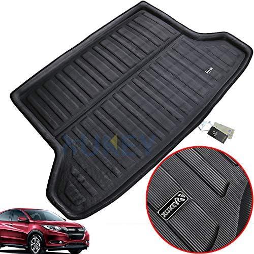 XUKEY for Honda HR-V HRV Vezel 2014-2019 Cargo Liner Boot Rear Trunk Mat Tray Floor Carpet Luggage Tray Mud Kick Pad Tailored