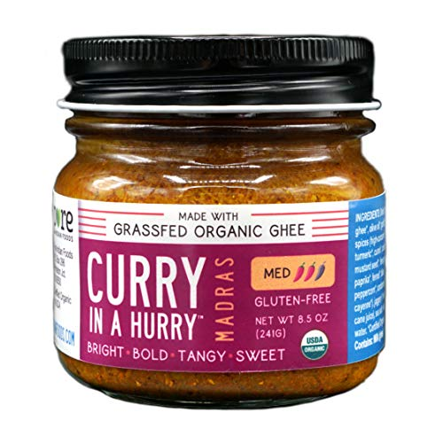 Curry In A Hurry (Madras) 8.5 oz, Certified Organic Curry Sauce ()