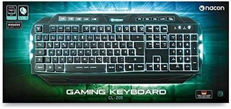 Keyboard Nacon Gaming Keyboard CL - 200DE [Importación ...