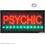 Bright Psychic Mind Palm Reading Telepathy ESP Therapist LED Open Shop Sign neon