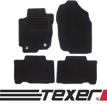 Carmat Texer Textil Fußmatten Passend Für Toyota Rav4 Iv Hybrid Bj 2015 2018 Basic Auto