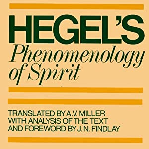 Phenomenology of Spirit Audiobook