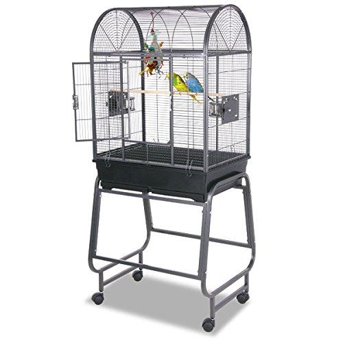 Montana Cages | Sittichkäfig, Käfig, Voliere, Vogelkäfig San Diego II - Antik DESIGN SITTICHVOLIERE