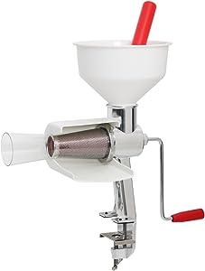 Roots & Branches VKP250 Johnny Apple Sauce Maker Model 250 Food Strainer, Basic, White
