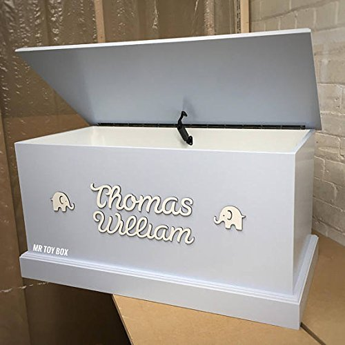 Toy Box | Personalised Handmade Childrenu0027s Toy Storage Box Trunk Chest  Blanket Box Girls Toy Box