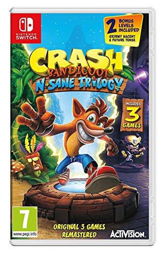 Crash Bandicoot N  Sane Trilogy  Nintendo Switch
