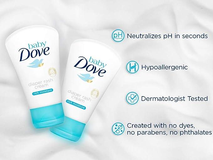 Crema de pañal Baby Dove hidratación profunda 45gr - pack de 12=540 gr: Amazon.es: Belleza