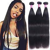 Best Grade Of Human Hair Weaves - Brazilian Straight Virgin Hair Weave 3 Bundles 10A Review