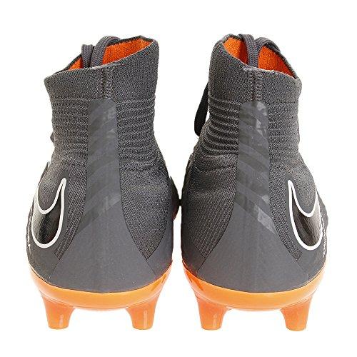 Nike Men's Phantom 3 Pro Df Agpro Fitness Shoes Multicolour (Dark Grey/Total Oran 081) sgmOy4cl