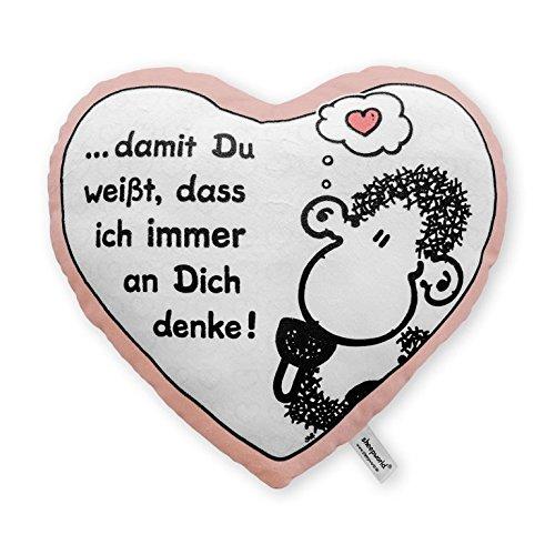 Sheepworld 42693 Plüschkissen