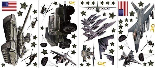 ST1289 Military Wall Sticker