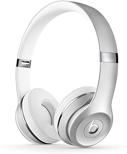 Beats Solo3 Wireless On-Ear Headphones – Apple W1 Headphone Chip, Class 1 Bluetooth, 40 Hours Of Listening Time – Silver Previous Model