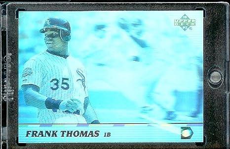 Amazoncom 1992 Upper Deck Hologram Baseball Card 52 Frank