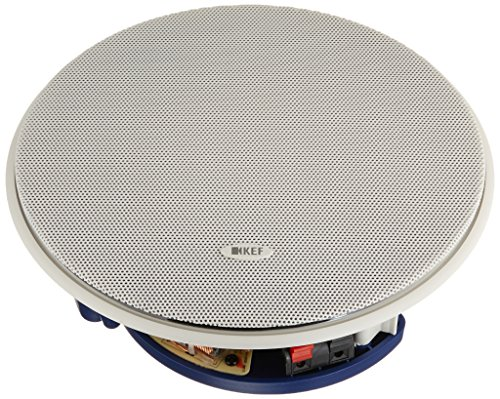 KEF CI160CRDS Round Dual Stereo In-Ceiling Architectural Loudspeaker (Single) by KEF