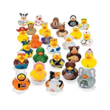 ABC Rubber Ducks - Prizes and Giveaways - 26 per Pack - From Fun365