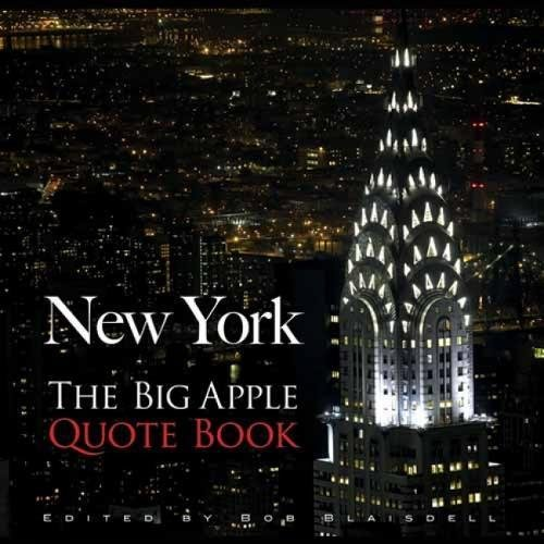 (New York: The Big Apple Quote Book (New York)
