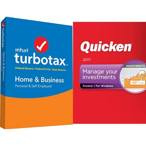 TurboTax Home & Business 2016 Tax Software Federal & State + Fed