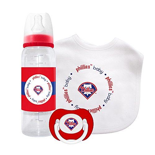Baby Fanatic Gift Set - Philadelphia Phillies (Baby Phillies Bib)