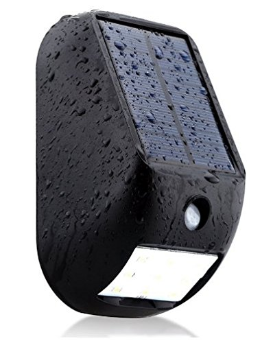 The Clever Life Company Motion Sensor Light – Solar Powered, Waterproof Outdoor Lighting - for Landscape, Walkway, Patio, Yard, Deck – Small, 6.4 Ounce