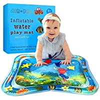 StillCool Baby Opblaasbare Waterspeelmat, Baby Water Mat Opblaasbare PVC watergevulde speelmat voor kinderen en peuters…