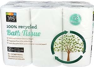 Amazon Com 365 Everyday Value 100 Recycled Bath Tissue