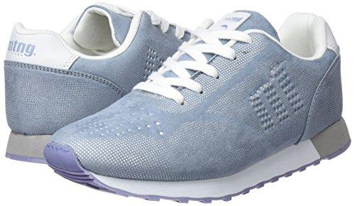Zapatillas Mtng Para Mujer Point Celesteprint De Silver Azul soft Sakuma Deporte 77wrC1q5