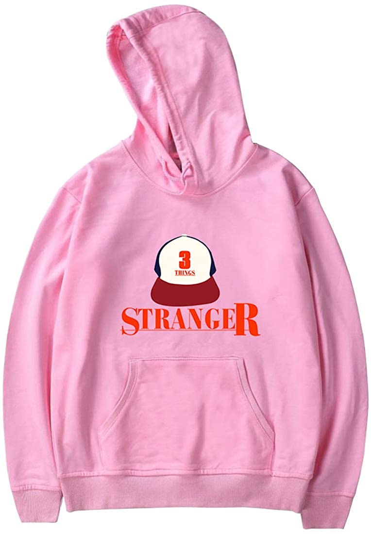 PANOZON Stranger Things Sudadera Unisex con Capucha Chaqueta para Hombre Impresi/ón de Logo Im/ágen Estilo Casual