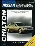 Nissan: 240SX / Altima 1993-98 (Chilton's Total Car Care Repair Manual)
