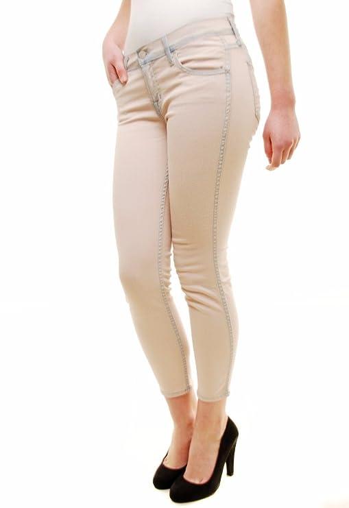 J Brand Mujer AlPiernara Capri Jeans Mango Color 9225C032 ...