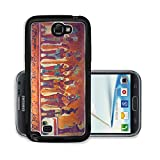 Liili Premium Samsung Galaxy Note 2 Aluminum Backplate Bumper Snap Case IMAGE ID: 9845534 Many people on the fresco in museum antropology in Mexico