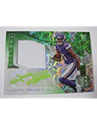 2016 Panini Spectra LAQUON TREADWELL Rookie Patch Auto Neon Green 5/25 Vikings - Panini Certified - Football Slabbed Autographed Rookie Cards