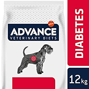 Advance Veterinary Diets Diabetes – Pienso para Perros diabéticos o con Colitis – 12 kg