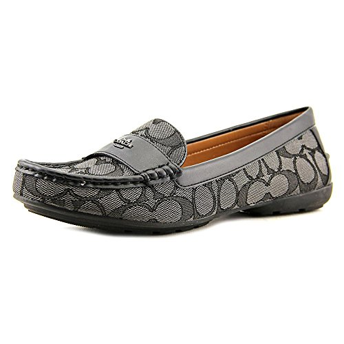 Coach Womens Odette Casual Loafers, Style A01424 Black/Smoke/Black