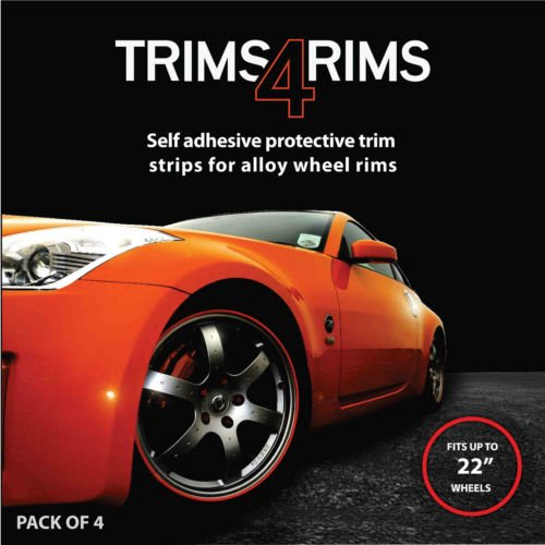 WHITE Trims4Rims by Rimblades-Alloy Wheel Rim Protectors/Trims/Guards Rimblades Limited